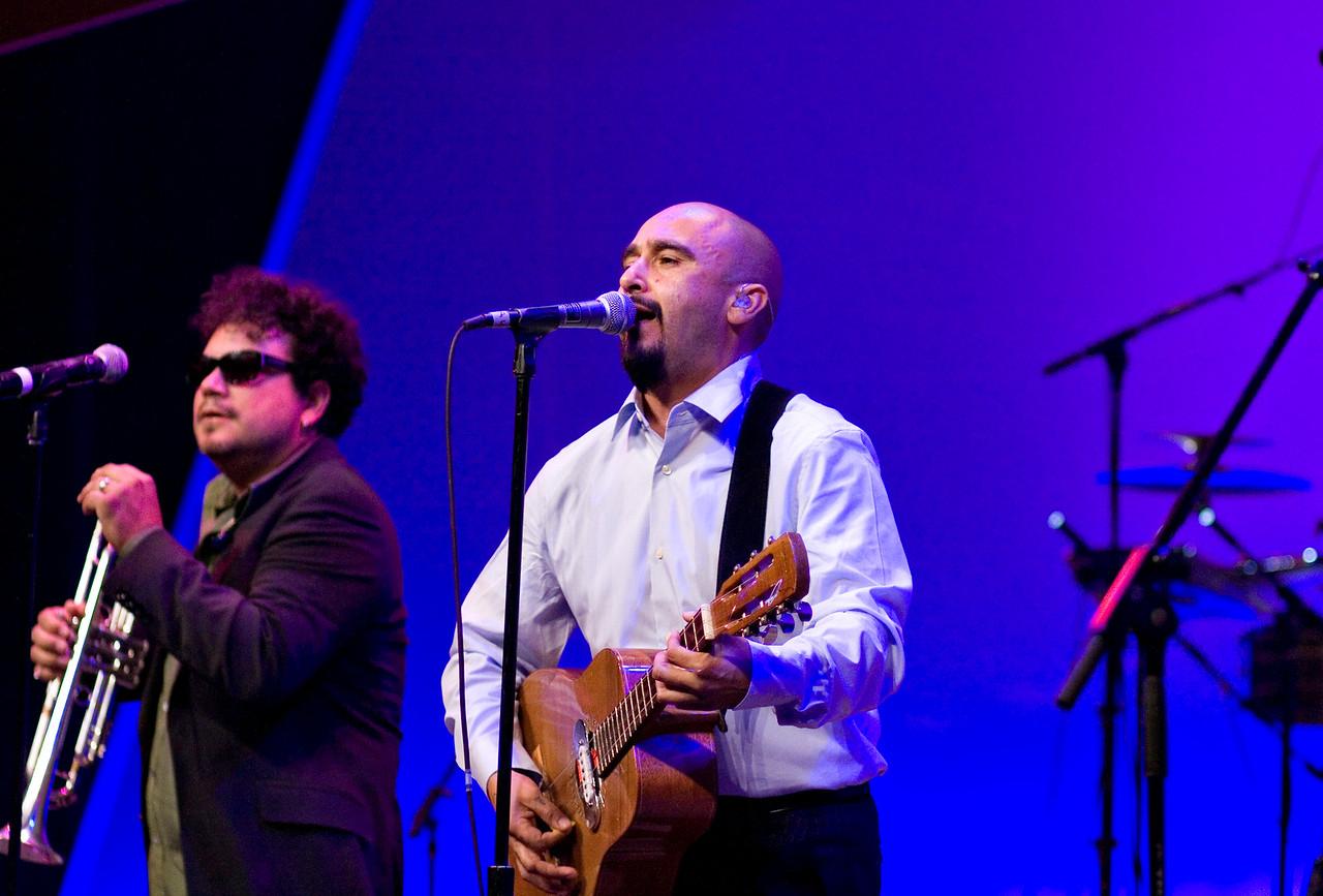 Raul<br /> Ozomatli at the Hispanic Caucus Gala on September 16, 2009