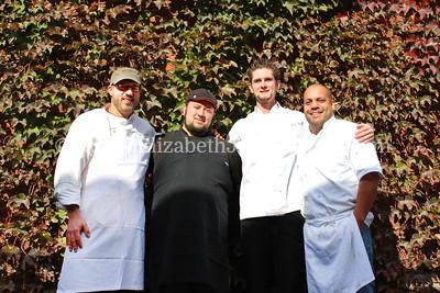 PA Bacon Fest 2013 Chefs: Jeremy Bialker, Peter Felton, Javan Small, Abe Lopez.