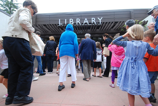 Palo Alto Downtown Library Re-opening celebration (July 16, 2011)