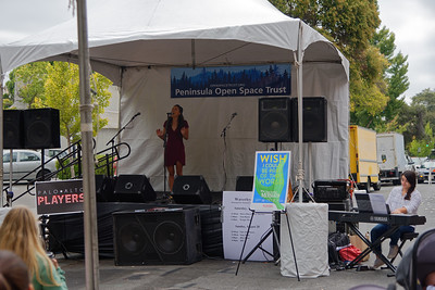 "Cheyenne Wells (Ariel) performs ""Part of Your World"" at the Palo Alto Festival of the Arts."