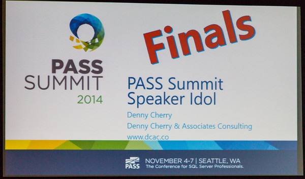 PASS Speaker Idol