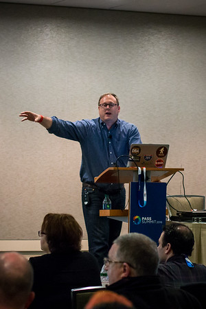 Eric Peterson presenting on Stretch Databases
