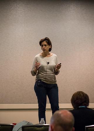 Shabnam Watson presenting on Code Reuse in DAX
