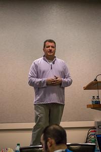 Robert Verell presenting on Database Snapshots