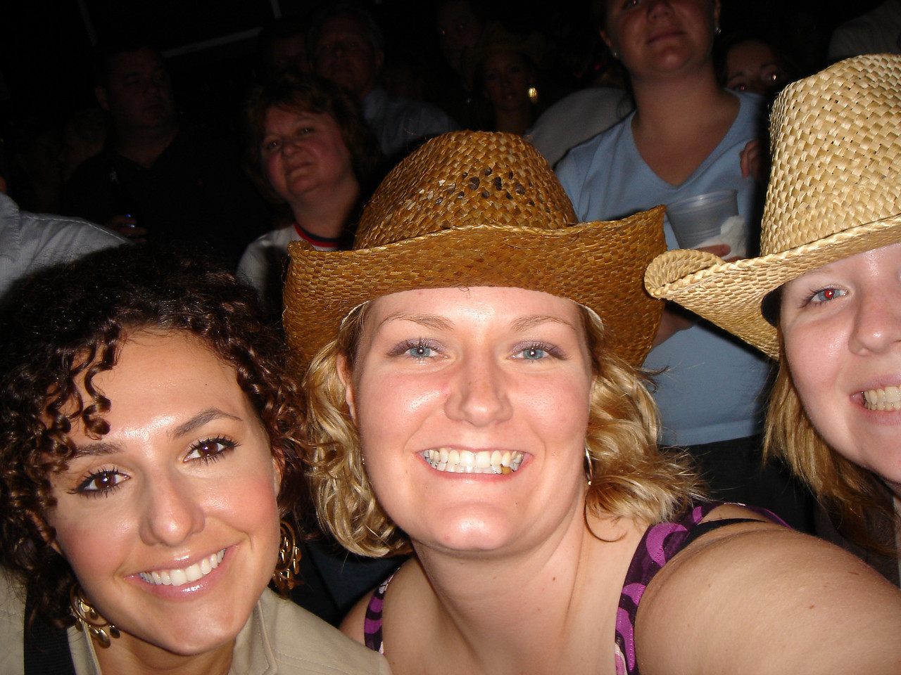 The girls were out to pa-arty!    Andrea, me and Dena (sorry Dena!).  My self picturing taking skills need a little work.
