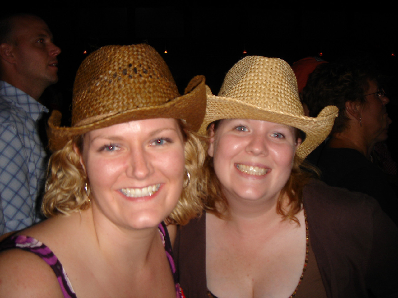 Me and Dena.  Yehaw!