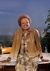 EBONY PHOTO SHOOT AT THE OFFICE OF PAULA MADISON IN UNIVERSAL CITY CALIFORNIA ON APRIL 26, 2010.  Valerie Goodloe