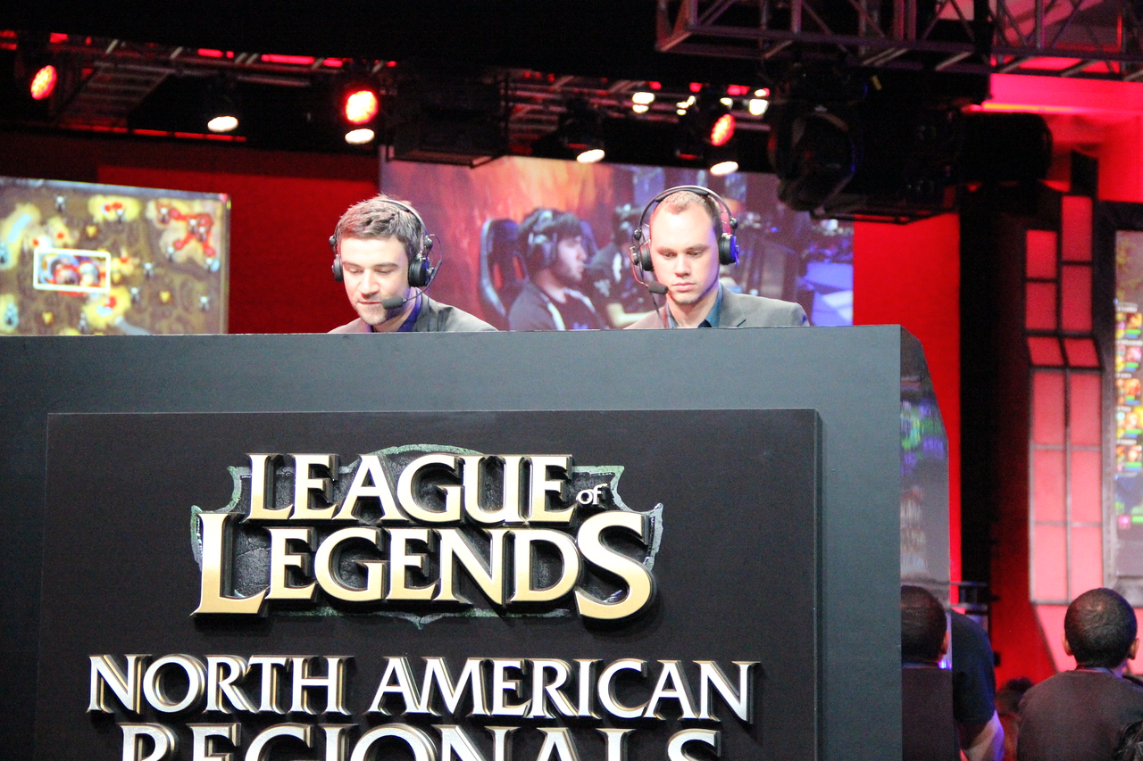 The weekend hosted hundreds of tournaments. Here's two announces calling the play-by-plays for Riot Games' North American Regionals for League of Legends Season 2.