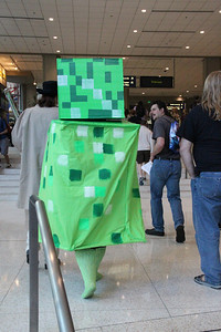 Green box guy was everywhere.