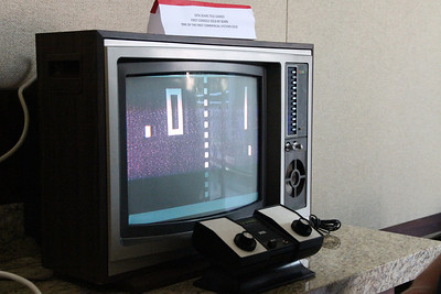 Here's the Tele-Games console, the first console sold by Sears in 1976.
