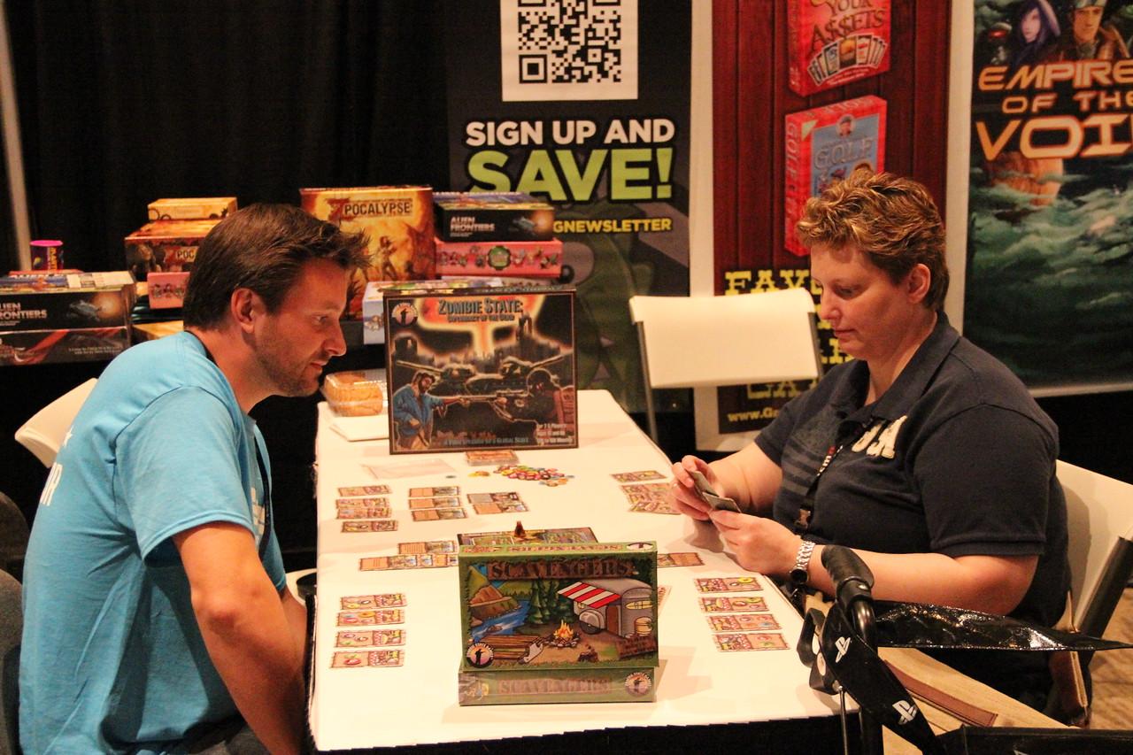 Non-digital board games count, too.