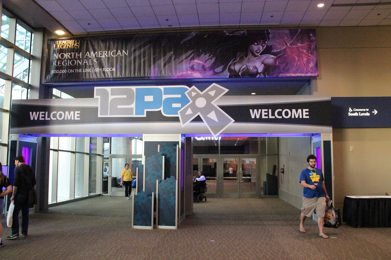 The 12th Penny Arcade Expo hosted 70,000 videogame fans in Seattle over Labor Day weekend.