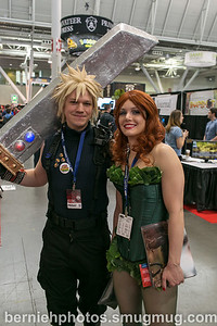 Sean Weiland of Risen Phoenix Studios (as Cloud) and Isis Daniels as Poison Ivy.