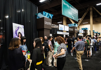 Registration at Cosmoprof North America 2013.