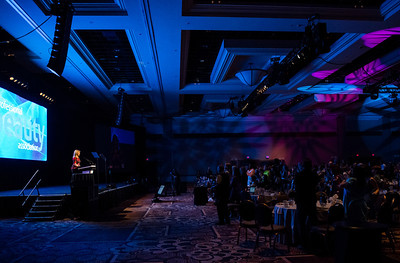 Arianna Huffington receives standing ovation at the 2013 PBA Annual Business Forum.