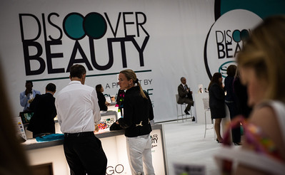 The Discover Beauty area at Cosmoprof North America 2013.