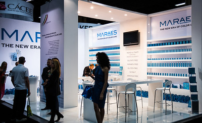 The Maraes booth at Cosmoprof North America 2013.