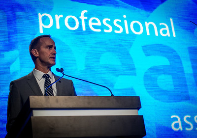PBA Executive Director, Steve Sleeper at the 2013 PBA Annual Business Forum.