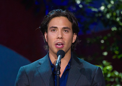 Apolo Anton Ohno is an American short track speed skating competitor and an eight-time medalist (two gold, two silver, four bronze) in the Winter Olympics. Here introducing 13 members of the current USA Olympic Team.