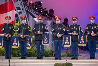 The U.S. Army Herald Trumpets, A Capitol Fourth