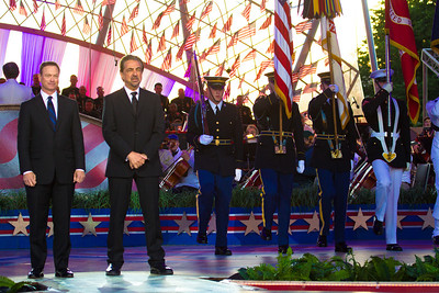 "For over thirty years, Gary Sinise's dedication to our nation's active duty defenders, veterans and first responders has become a tireless crusade of support, service and gratitude to all those who serve and protect America. Joe Mantegna is a world-class and award-winning entertainer with a strong background in television, theater and film who returns to co-host the ""National Memorial Day Concert"" for his eighth consecutive year with Gary Sinise."