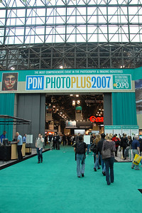 Entrance to PDN Magazine's PhotoPlus Expo & Conference which is an annual event was held at Jacob K. Javits Convention Center, New York, USA. I attended this in October 2007.
