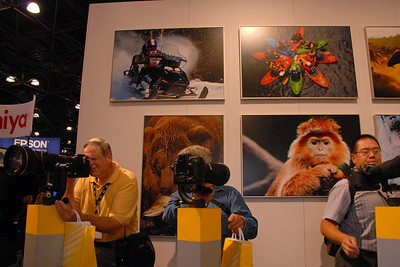Images from PDN Magazine's PhotoPlus Expo & Conference which is an annual event was held at Jacob K. Javits Convention Center, New York, USA. I attended this in October 2007.
