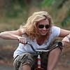 Melissa rides. File: IMG_7898