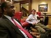 Long time PEA Trustee Allan Jones and Cam Hutton, recent Stanford graduate