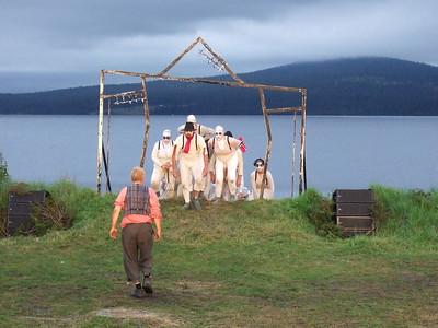 """PEER GYNT"" ved Gålåvatnet 05/08/2011    Peer Gynt: Dennis Storhøi   www.peergynt.no www.peergynt.no/english ---  Foto: Jonny Isaksen"