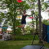 Fun and games in shady  Dulcimer Grove. (Howard Pitkow/for Newsworks)
