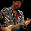 Guitarest Tab Benoit from Friday's headliner Voices Of The Wetlands Allstars. (Howard Pitkow/for Newsworks)