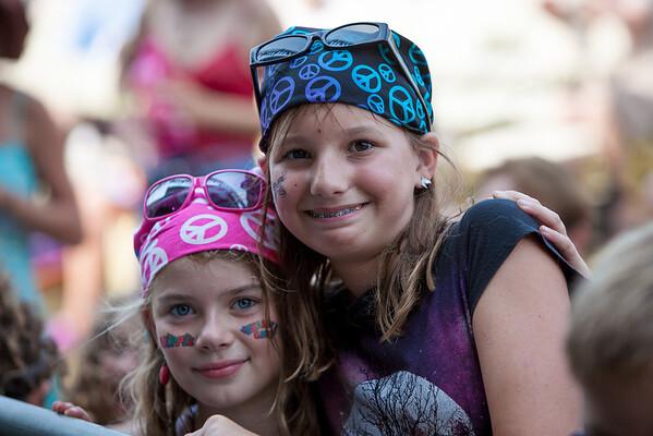 Children enjoying the music on main stage. (Howard Pitkow/for Newsworks)