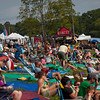 Friday afternoon audience enjoying the theri Folk Festival experience. (Howard Pitkow/for Newsworks)