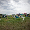 The campground on Monday morning. (Howard Pitkow/for Newsworks)