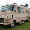 1969 Dodge travel trailer returns each year for the folk festival weekend. (Howard Pitkow/for Newsworks)