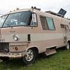 1969 Dodge travel trailer returns each year for the folk festival weekend. (Howard Pitkow/for Newsworks)