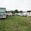Heavy camping on Monday morning. (Howard Pitkow/for Newsworks)