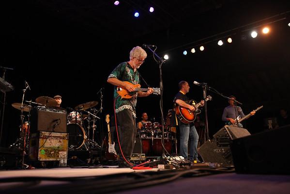 Little Feet performed on Saturday night at the Philadelphia Folk Festival. (Howard Pitkow/for Newsworks)