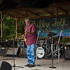 The Holmes Brothers perform a Sunday morning gospal set on the camp stage. (Howard Pitkow/for Newsworks)