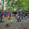Children playing in  Dulcimer Grove on Sunday morning. (Howard Pitkow/for Newsworks)