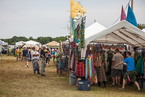 The folk festival craft area is primarily made up of juried crafters. (Howard Pitkow/for Newsworks)