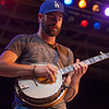 The Hillbenders performing at the Philadephia Folk Festival. (Howard Pitkow/for Newsworks)