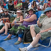 Getting ready for the Sunday afternoon at the Philadelphia Folk Festival. (Howard Pitkow/for Newsworks)
