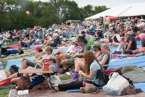 Sunday afternoon at the Philadelphia Folk Festival. (Howard Pitkow/for Newsworks)