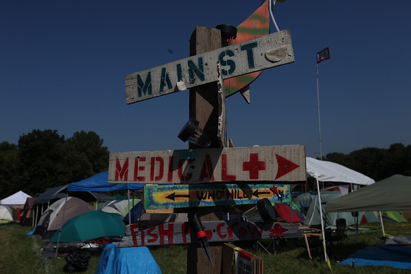 A typical Camp Ground road sign. (Howard Pitkow/for Newsworks)
