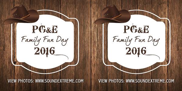 PG&E Family Fun Day