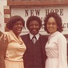 Cora, her 1st cousin John Henry & Maggie.  Ora Lee Green, is John Henry's mother and Maggie Mae's Aunt; her mother Big Maggie's sister.  New Hope Baptist Church was the family church in the 40's and 50's.