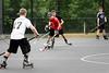 Hatboro Horsham Ice Hockey held clinics and pick-up street hockey games at Horsham Day June 6, 2015.<br /> Bob Raines--Montgomery Media