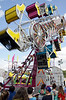 "Fair-goers line up to ride the ""Zipper""at the June Fete Village Fair Saturday, June 6, 2015.<br /> Bob Raines--Montgomery Media"